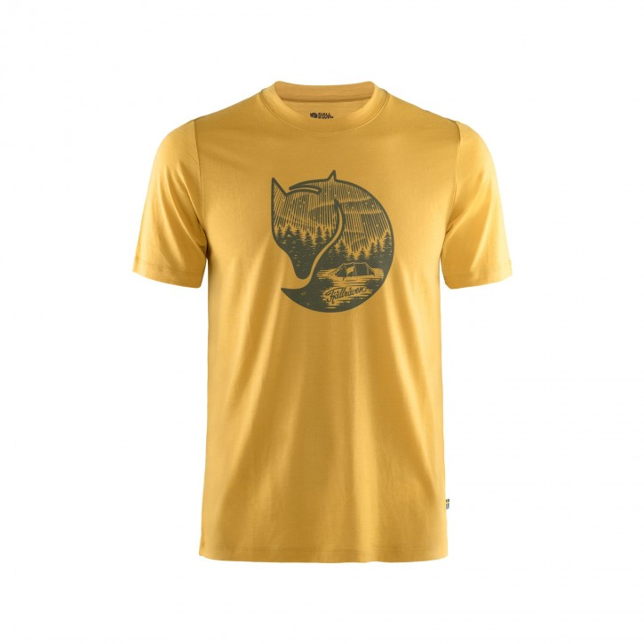 Fjällräven Abisko Wool Fox T-Shirt Men