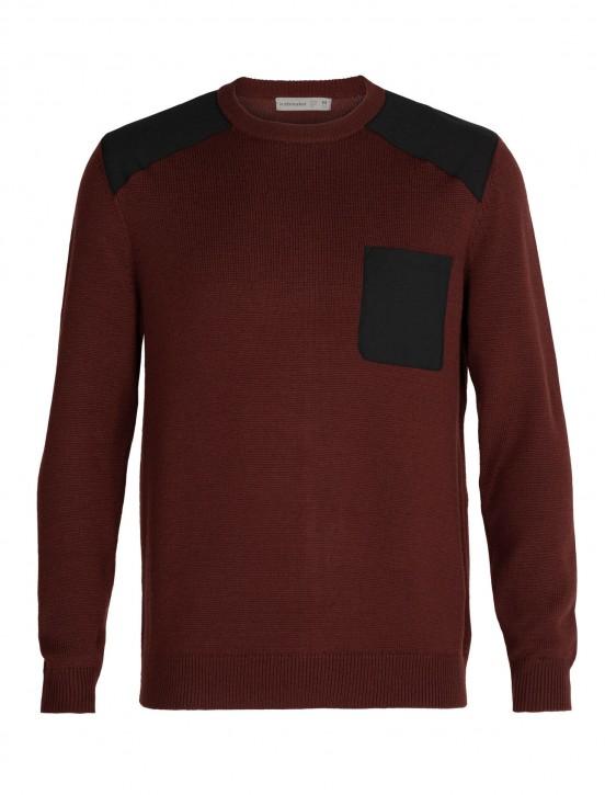 Icebreaker Mens Barein Crewe Sweater