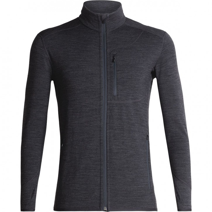 Icebreaker Mens Descender LS Zip