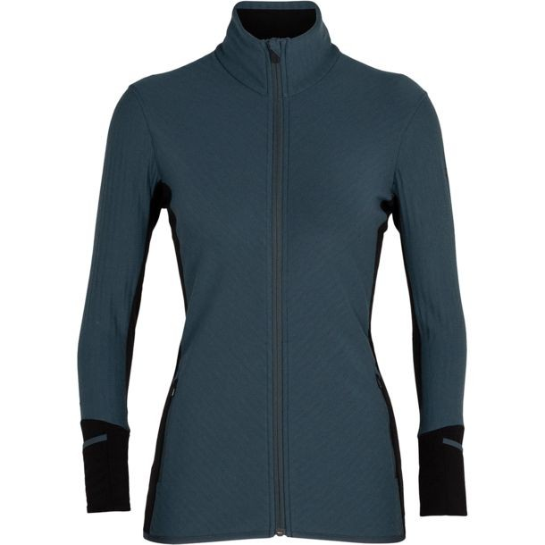 Icebreaker Descender LS Zip Women