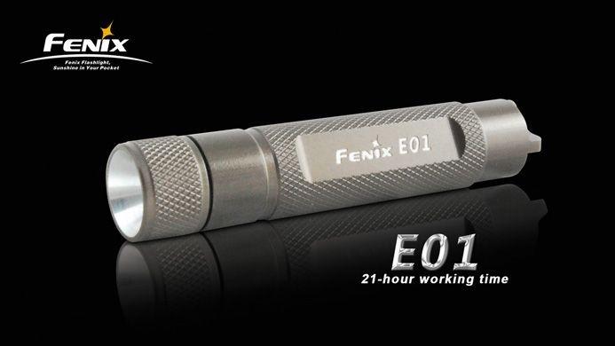 Fenix E01 Taschenlampe