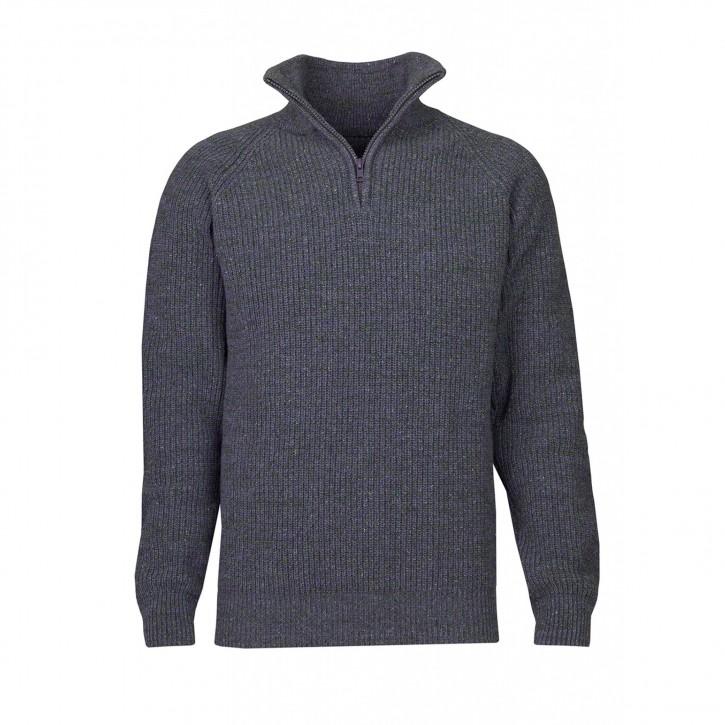 Blue Loop Everyday Zip Sweater