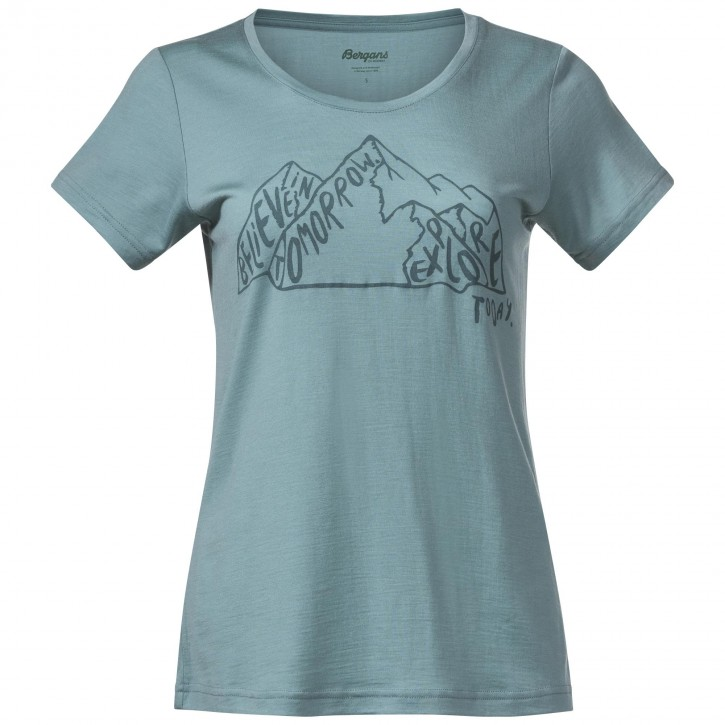Bergans Graphic Wool W Tee