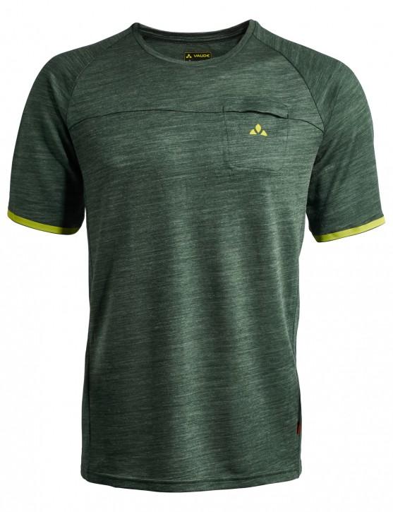 Vaude Men Green Core Shirt