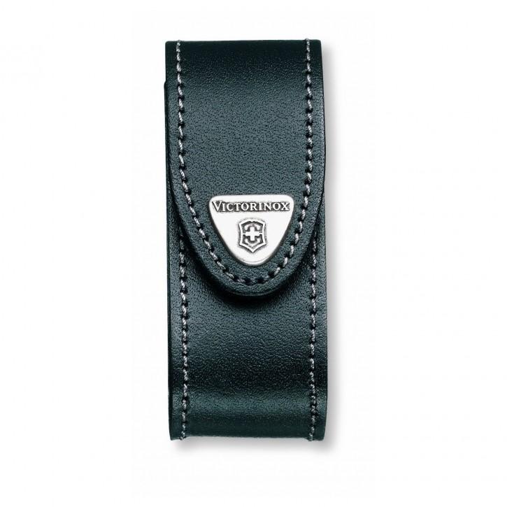 Victorinox Gürteletui Leder schwarz