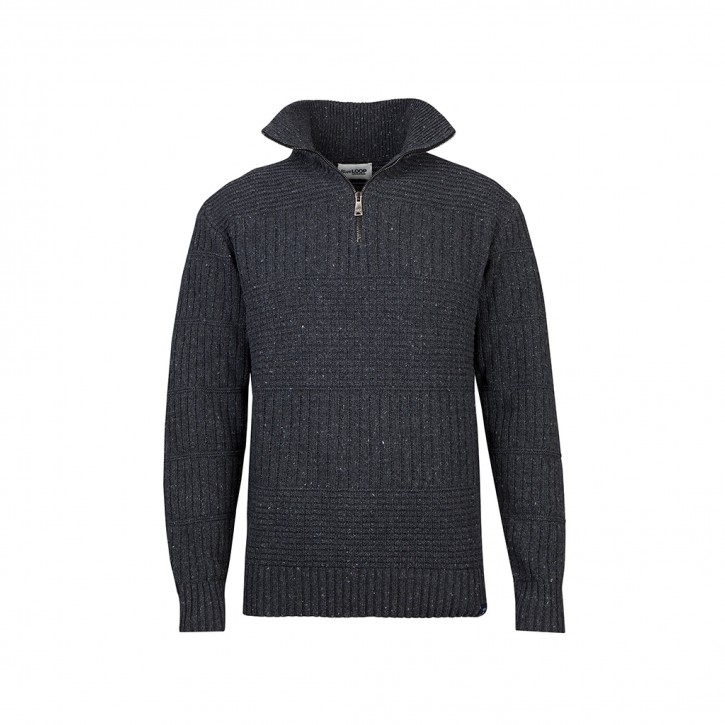 Blue Loop Harlingen Waddensea Sweater M / anthrazit