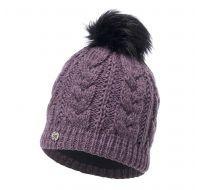 Buff Knitted & Polar Hat Darla