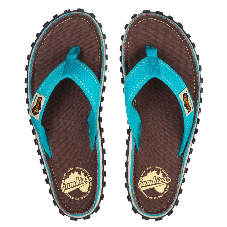 Gumbies Islander 5 / brown retro