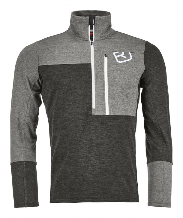 Ortovox Merino Fleece Light Zip Neck