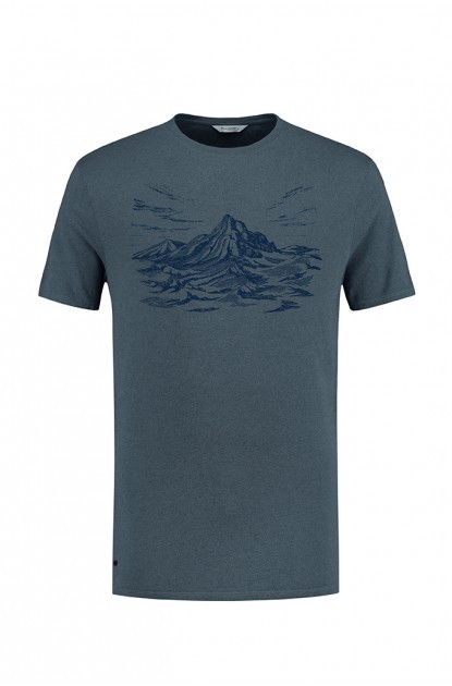Blue Loop Pure Mountain T-Shirt