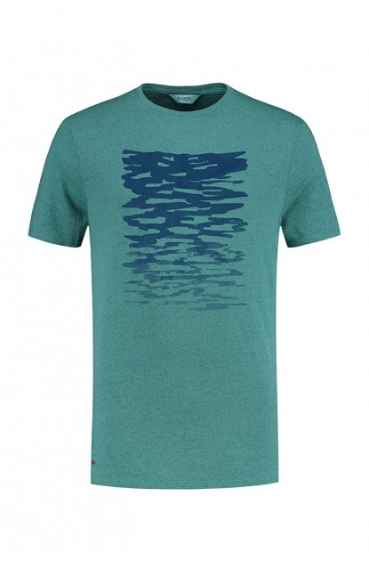 Blue Loop Pure Ripple T-Shirt