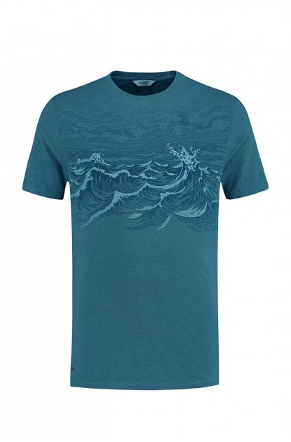 Blue Loop Pure Waves T-Shirt