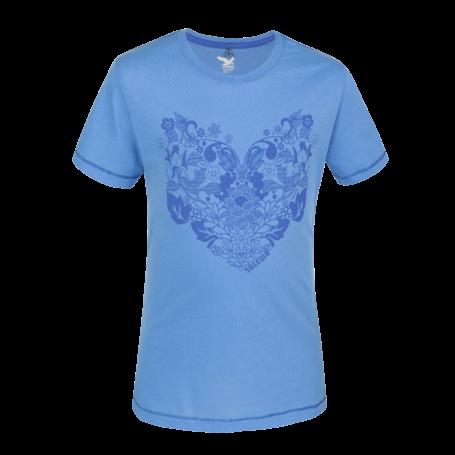 Salewa Twirl Cotton Girl kurzarm T-Shirt