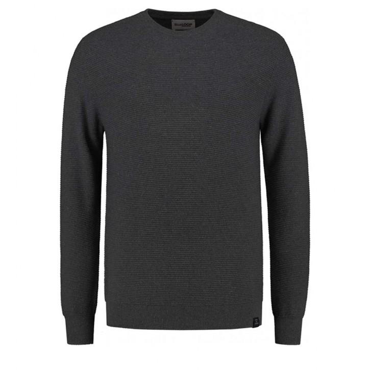 Blue Loop Weekend Sweater