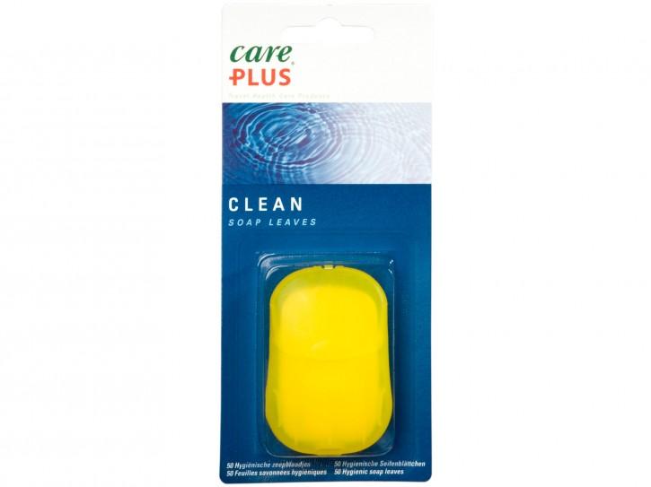 Care Plus Clean Soap Leaves Seifenblättchen