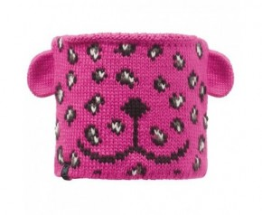 Buff Child Neckwarmer Knitted & Polar Fleece