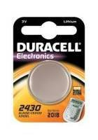 Duracell DL2430/CR2430/K2430L 3V Lithium