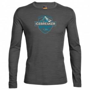 Icebreaker Oasis LS Crewe Alpin Crest