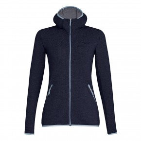 Salewa Puez Women Full Zip Hoody 44 / navy