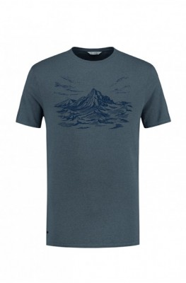 Blue Loop Pure Mountain T-Shirt