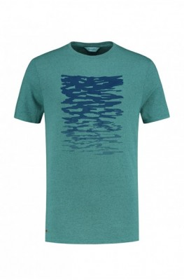 Blue Loop Pure Ripple T-Shirt M / smaragd