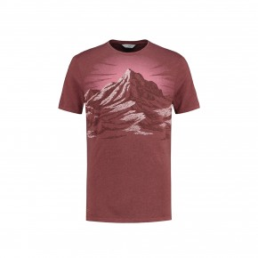 Blue Loop Pure T-Shirt Mountain M / red