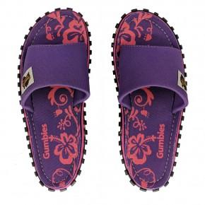 Gumbies Slide 4 / purple hibiscus