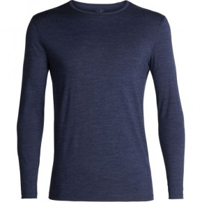 Icebreaker Tech 200 LS Crewe S / fathom heather